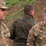 Հայաստանի Զինված ուժերի գլխավոր շտաբի պետն Արցախում այցելել է առաջնագիծ