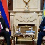 Ղազախստանը հետաքրքրված է Հայաստանի հետ տնտեսական կապերի խորացմամբ