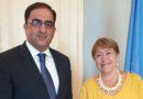 ՄԱԿ Ժնևյան գրասենյակում հանդիպել են ՀՀ մշտական ներկայացուցիչը և ՄԱԿ մարդու իրավունքների գերագույն հանձնակատարը