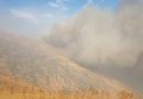 Արայի լեռան ստորոտում հրդեհաշիջման աշխատանքները շարունակվում են (տեսանյութ)