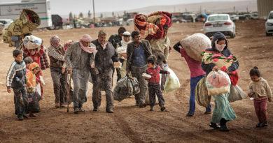 Սիրիայում վերջին 24 ժամում գրեթե 40 000 բնակիչ փախստական է դարձել