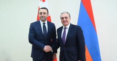 Մնացականյանը վրացական կողմին ներկայացրել է ԼՂ խաղաղ կարգավորման գործընթացում Հայաստանի սկզբունքային դիրքորոշումը և մոտեցումները