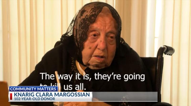 Տեսանյութ.Ես չեմ ցանկանում, որ հայերը ջնջվեն քարտեզից.Հիմնադրամին 1 մլն դոլար փոխանցած 102 տարեկան Քնարիկ Մարկոսյան