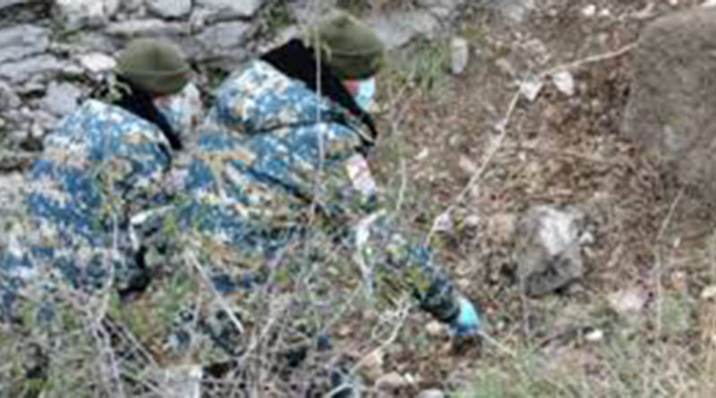 Ջաբրայիլի եւ Հադրութի տարածքներից հայտնաբերվել է 19 զինծառայողի եւ 1 քաղաքացիական անձի մարմին. Արցախի ԱԻՊԾ