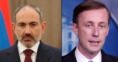 Ամերիկյան կողմն անընդունելի և սադրիչ է համարել Հայաստանի սահմանից ներս ադրբեջանական ուժերի իրականացրած գործողությունները․ Ջեյք Սալիվան