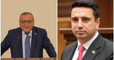 Արցախի ԱԺ նախագահը շնորհավորել է Հայաստանի ԱԺ նախագահին